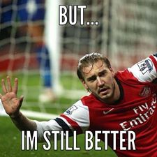 Bendtner But Im still better