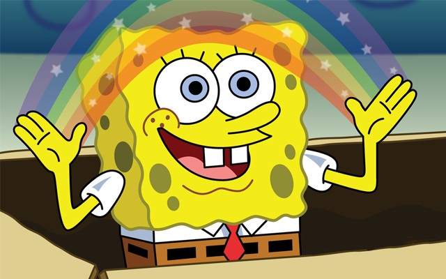 Spongebob Imagination Rainbow
