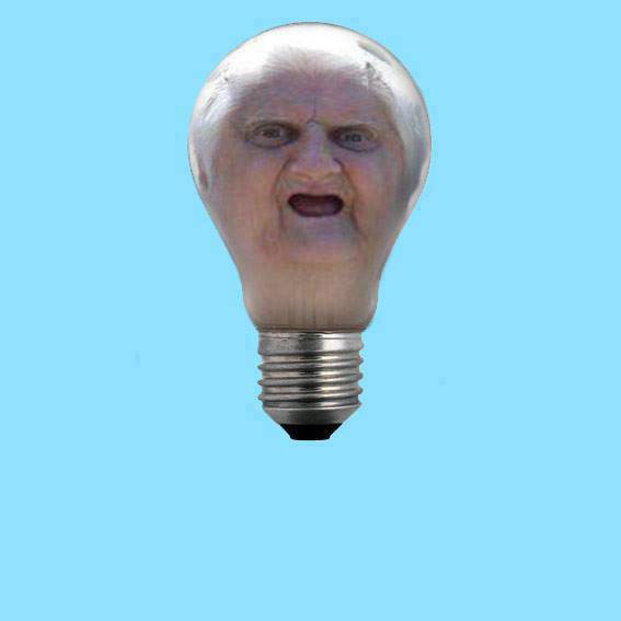 65 Wat Lady as a Light Bulb