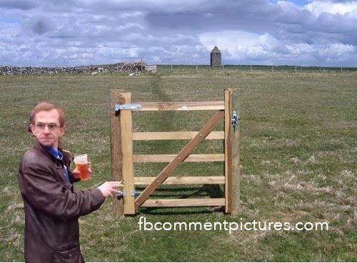 Wealdstone Raider Next to a Fence
